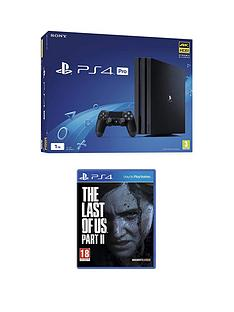 playstation-4-ps4-pronbspwith-the-last-of-us-part-ii-and-optional-extras-1tb-console