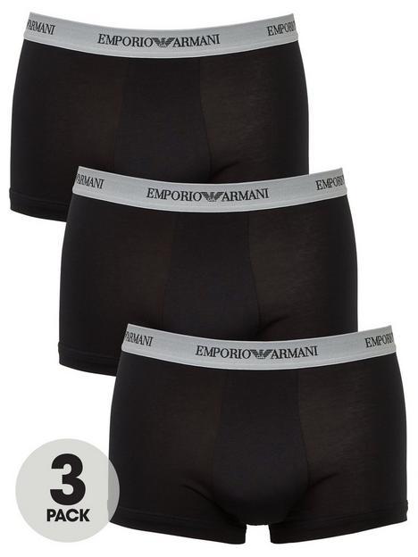 emporio-armani-bodywear-bodywear-3-pack-trunks-black