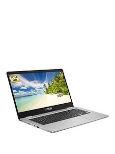 asus-chromebook-c423na-eb0324-intel-pentium-4gb-ram-64gb-storage-14in-fhd-laptop-with-optional-microsoft-m365-family-silver