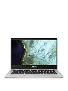 asus-chromebook-c423na-bv0158-intel-celeron-4gb-ram-64gb-storage-14in-hd-laptop-with-optional-microsoft-m365-family-silver
