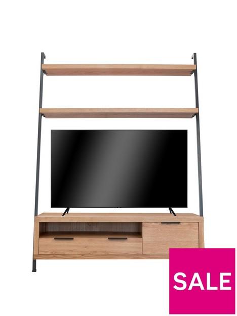 k-interiors-waverton-tv-bookcase--nbspfits-up-to-52-inch-tv