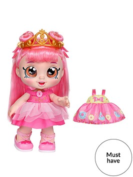 kindi-kids-kindi-kidsdonatina-princess-dress-up-doll--pre-school-10-inch-toddler-dollandoutfit