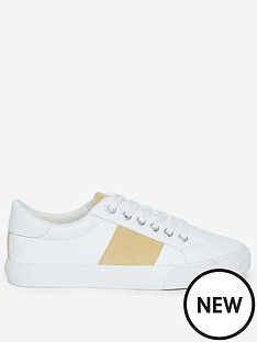 dorothy-perkins-irina-trainers-whiteyellow