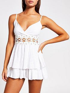 river-island-eyelet-trim-frill-beach-playsuit-white