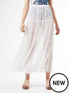 dorothy-perkins-cutwork-tiered-skirt-ivorynbsp