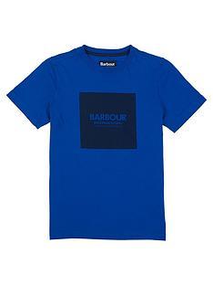 barbour-international-boys-block-logo-t-shirt-cobalt