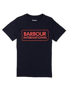 barbour-international-boys-essential-logo-t-shirt-black