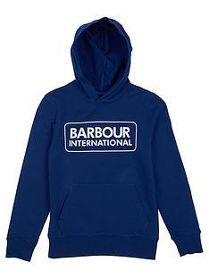 barbour-international-boys-large-logo-hoodie-inky-blue