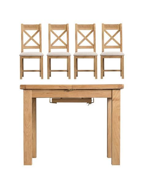 k-interiors-alana-100-140-cmnbspextending-dining-table-nbsp4-fabric-chairs