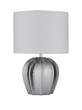 reign-herringbone-glass-table-lamp