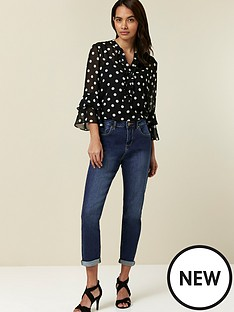 wallis-scarlett-mid-wash-roll-up-jean-mid-wash-denim