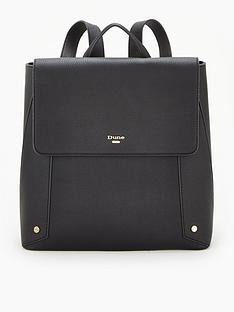 dune-london-dora-di-backpack-black