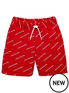hype-boysnbspall-over-logo-jog-shorts-red