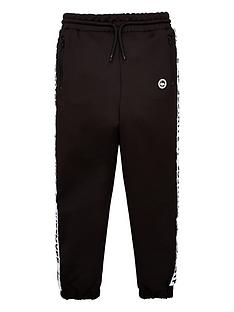 hype-boysnbspspeckle-fade-poly-jogger-black