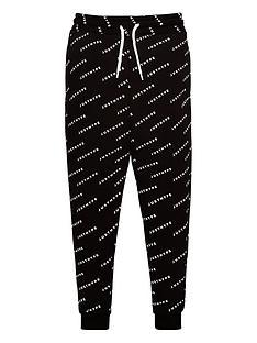 hype-boysnbspall-over-logo-jogger-black
