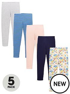 mini-v-by-very-girls-5-pack-leggings-multi