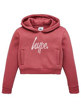 hype-girlsnbsprose-gold-script-cropped-overhead-hoodie-mauve