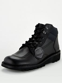 kickers-hi-flex-leather-boot-black