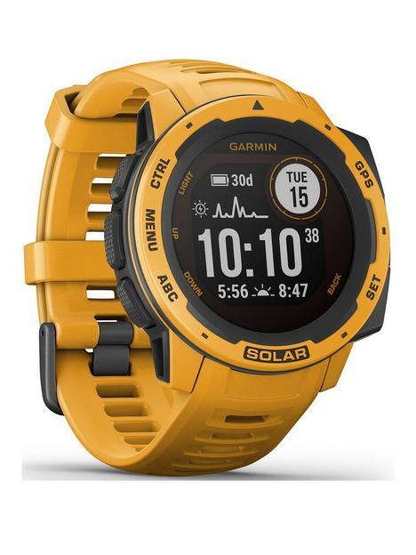 garmin-instinct-solar-gps-watch-sunburst-yellow