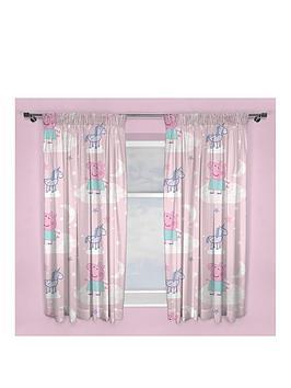 peppa-pig-stardust-pleated-curtains