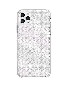 kate-spade-new-york-new-york-protective-hardshell-case-for-iphone-11-pro-max-spade-flower-pearl-foilcrystal-gems