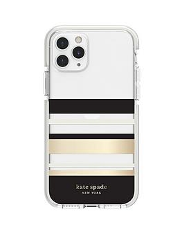 kate-spade-new-york-new-york-defensive-hardshell-case-for-iphone-11-pro-park-stripe-gold-foilblackcreamcream-bumperclear