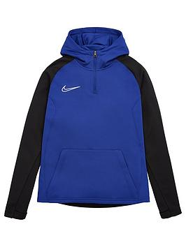 nike-youth-gpx-academy-quarter-zip-hoodie-blue-black