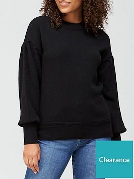 v-by-very-crew-neck-dropped-shoulder-jumper-black