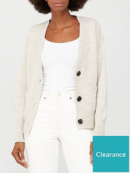 v-by-very-button-up-short-cardigan-with-pockets-oatmeal