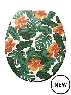 aqualona-tropical-leaf-wooden-toilet-seat