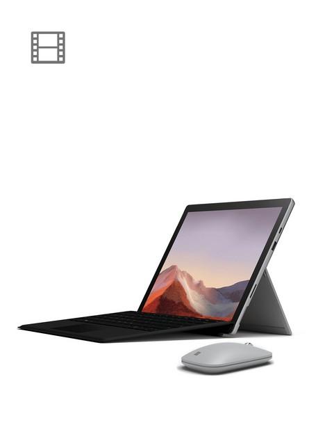 microsoft-surface-pro-7-laptop-123-inch-intel-core-i3-4gb-ram-128gb-ssd-keyboard-and-wireless-mouse-includednbspoptional-microsoftnbsp365-family-15-monthsnbsp--platinum