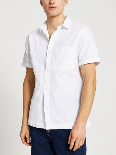 river-island-seersucker-short-sleeve-shirt-white