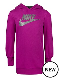nike-younger-girls-shine-fleece-pullover-hoodie-purple