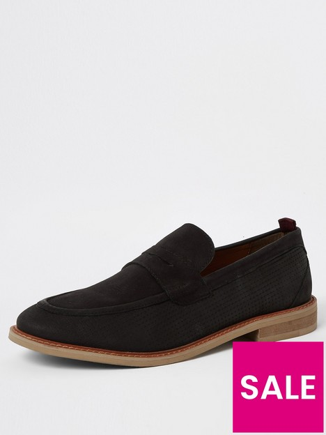 river-island-leather-penny-loafers-black