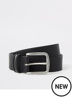 river-island-leather-ri-buckle-belt-black