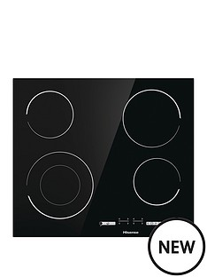 hisense-e6432c-60cm-width-ceramic-hob-black