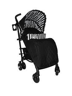 my-babiie-your-babiie-monochrome-leopard-stroller
