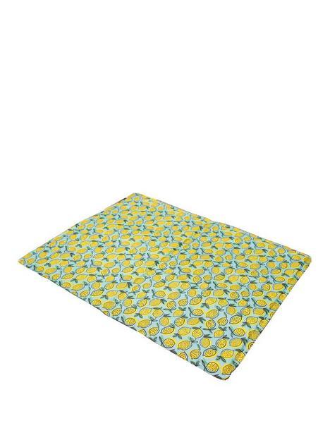 rosewood-pet-lemon-print-rectangular-cool-mat-65cm-x-50cm