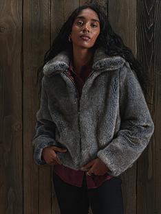 superdry-boho-faux-fur-jacket-mink