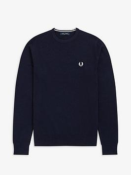 fred-perry-classic-crew-neck-jumper