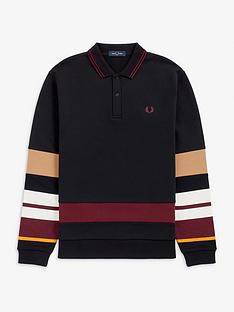 fred-perry-striped-sleeve-polo-shirt