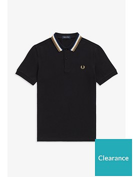 fred-perry-fred-perry-striped-collar-polo-shirt-black