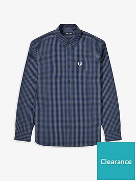 fred-perry-fred-perry-four-colour-gingham-shirt-blue