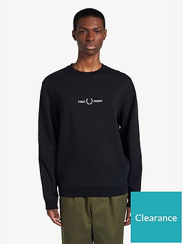 fred-perry-graphic-sweatshirt