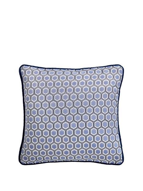 tess-daly-hexagon-square-cushion