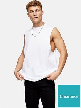 topman-cobra-crew-neck-vest-white