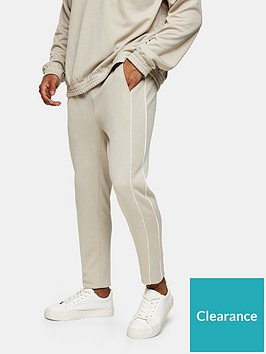 topman-piped-skinny-fit-joggers-stone
