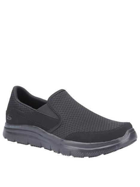 skechers-workwear-flex-advantage-trainers-black