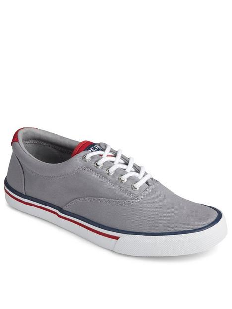 sperry-striper-canvas-plimsolls-grey
