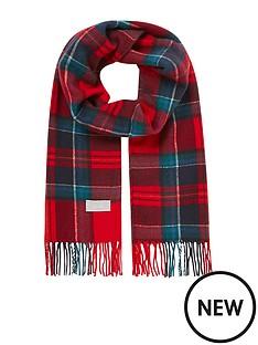 joules-bracken-scarf-red